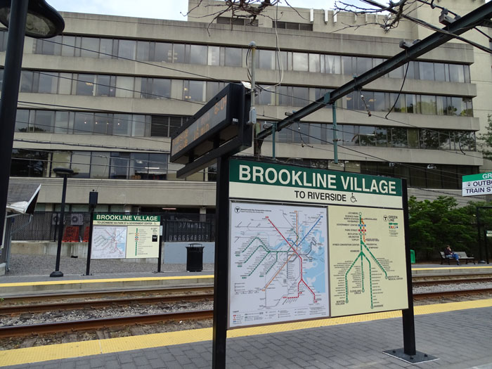 Brookline Village Train Station